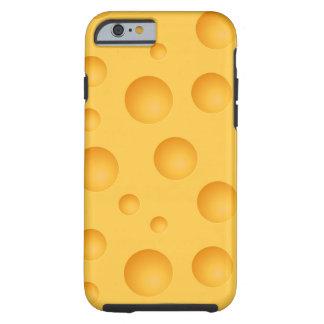 Het gele Patroon van de Kaas Tough iPhone 6 Hoesje
