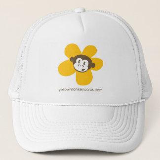 Het gele Pet van de Bloem van de Aap