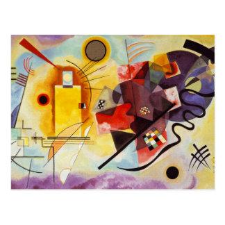 Het Gele Rode Blauw van Kandinsky Briefkaart