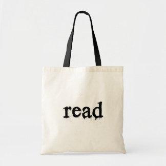 Het Gelezen Canvas tas van het boek - (het Type