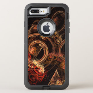 Het geluid van het Abstracte Art. van de Muziek OtterBox Defender iPhone 8 Plus / 7 Plus Hoesje