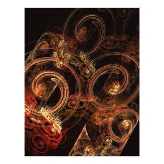 Het geluid van Vlieger van de Kunst van de Muziek  Flyer 21,6 X 27,9 Cm