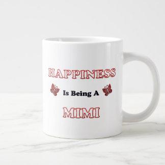 Het geluk is A Mimi Grote Koffiekop