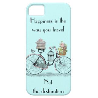 Het geluk is de manier u iphone 5 dekking reist barely there iPhone 5 hoesje