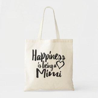 Het geluk is een Mimi Hart Draagtas