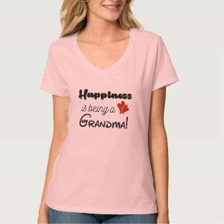 Het geluk is een Oma T Shirt