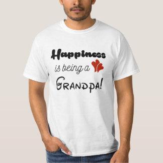 Het geluk is een Opa T Shirt