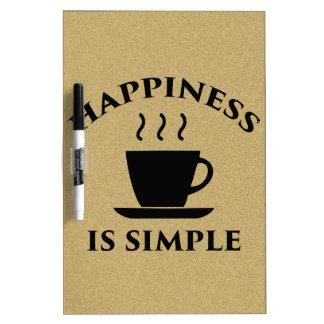 Het geluk is Eenvoudig Whiteboards