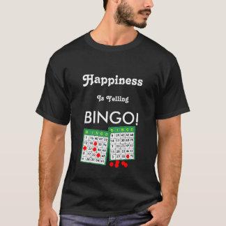 Het geluk schreeuwt het Grappige Overhemd van het T Shirt