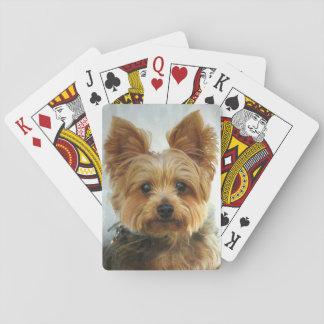 Het geluk van Yorkie Speelkaarten