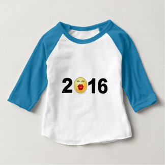 Het gelukkige Aantal van de Kus Smiley van het T-shirt