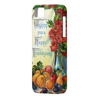 Het gelukkige Art. van de Oogst van de Herfst van Barely There iPhone 5 Hoesje