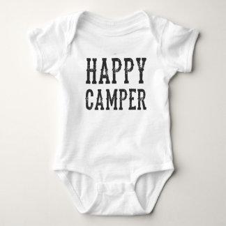 Het gelukkige Baby van de Kampeerauto Romper