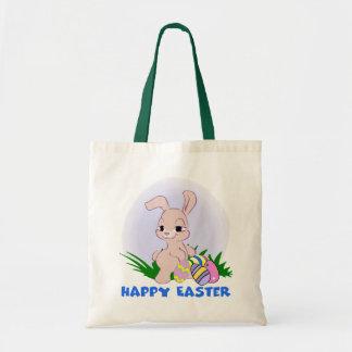 Het gelukkige Canvas tas van Pasen