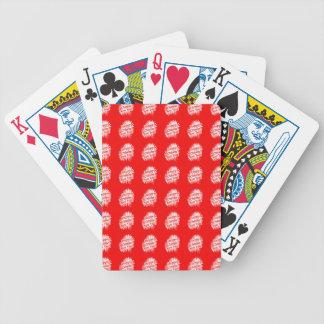 Het gelukkige Chinese Patroon van het Nieuwjaar Poker Kaarten