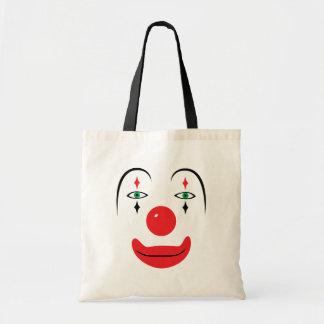 Het gelukkige Gezicht van de Clown Draagtas