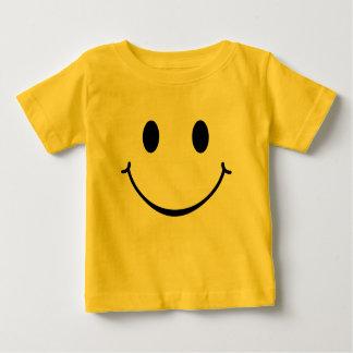 Het Gelukkige Gezicht van Smiley Baby T Shirts