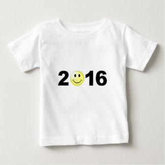 Het gelukkige Grappige Zoete Aantal Smiley van het Baby T Shirts