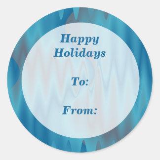 Het gelukkige Label van de Gift van het Vakantie