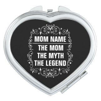 Het Gelukkige Moederdag van het mamma Make-up Spiegels