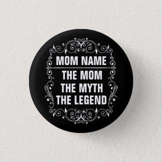 Het Gelukkige Moederdag van het mamma Ronde Button 3,2 Cm