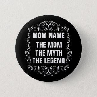 Het Gelukkige Moederdag van het mamma Ronde Button 5,7 Cm
