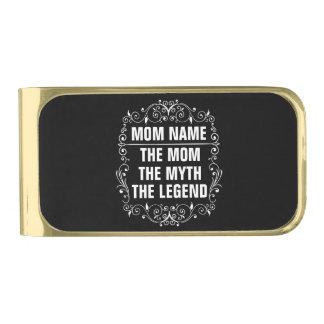 Het Gelukkige Moederdag van het mamma Vergulde Geldclip