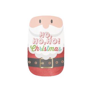 Het Gelukkige Nieuwjaar van Kerstmis van Ho Ho Ho Nepnagels