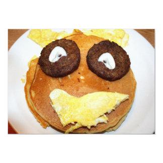 Het gelukkige Ontbijt van het Gezicht Kaart
