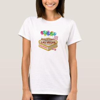 Het gelukkige Overhemd van de CAKE van Las Vegas T Shirt