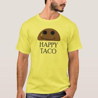 Het gelukkige Overhemd van het T-shirt van de Taco