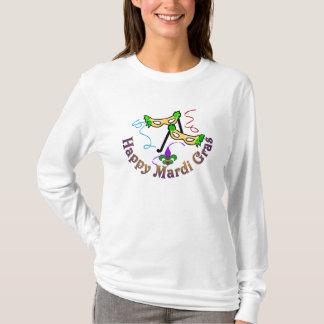 Het gelukkige Overhemd van Mardi Gras T Shirt