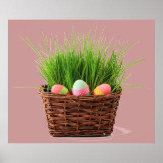 Het gelukkige Poster van Pasen