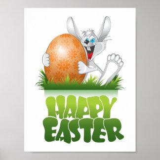 Het gelukkige poster van Pasen: Het Poster van het