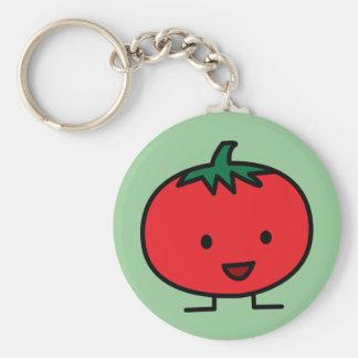 Het gelukkige Rode Plantaardige Fruit van de Sleutelhanger