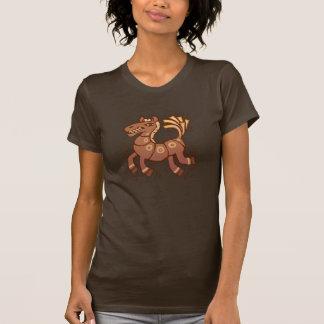 Het gelukkige Springen van het Paard T Shirt