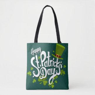 Het gelukkige St. Patrick Canvas tas van de Dag