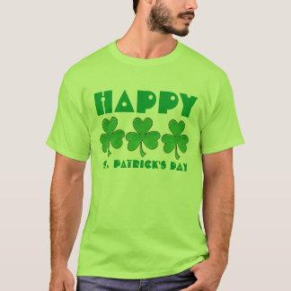 Het gelukkige St. Patrick Overhemd van de Klaver T Shirt