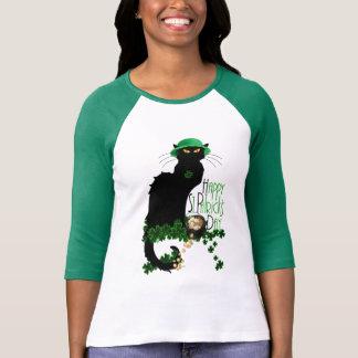 Het gelukkige St Patrick Praatje Noir van de Dag T Shirt