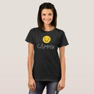 Het gelukkige T-shirt van Emoji Emoticon van de