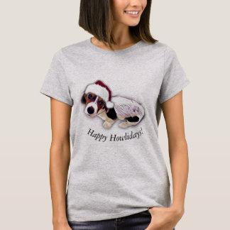 Het gelukkige T-shirt van Kerstmis Howlidays