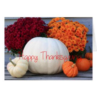 Het gelukkige Wenskaart van de Thanksgiving