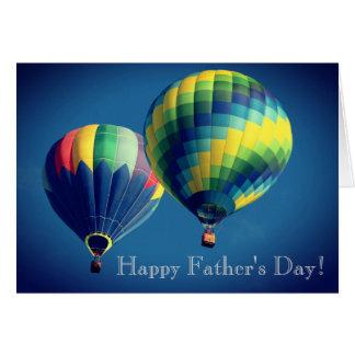 Het gelukkige Wenskaart van het Vaderdag