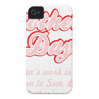 Het gelukkige Werk van de Moeders van de Moederdag iPhone 4 Hoesje