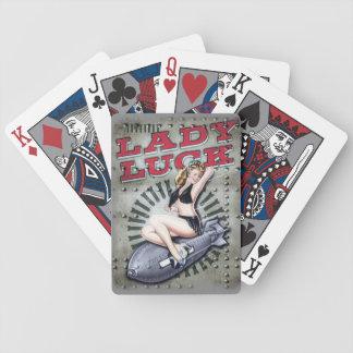 Het gelukWW2 kaarten van de dame