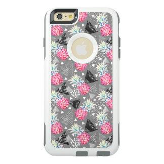 Het geometrische Geweven Patroon van de Ananas OtterBox iPhone 6/6s Plus Hoesje