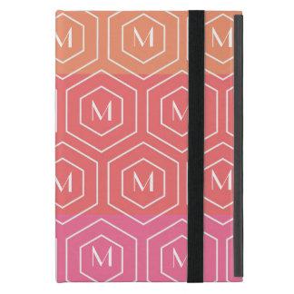 Het geometrische Hoesje van iPad van het Monogram  iPad Mini Covers