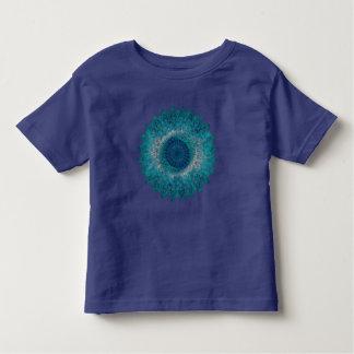 Het geometrische Motief van het Blad Kinder Shirts