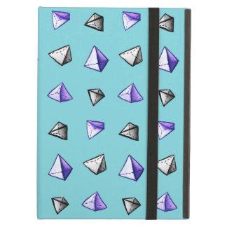 Het geometrische Patroon Geek van de Piramide van iPad Air Hoesje