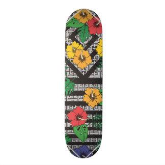 Het geometrische Skateboard van de Bloem